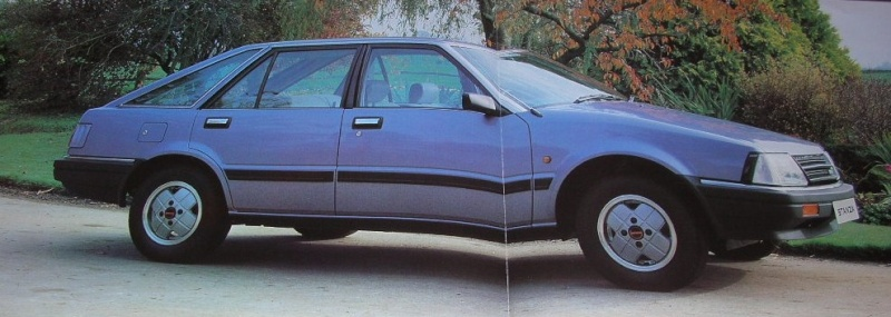Datsun / NISSAN STANZA série des models T11 Stanza12