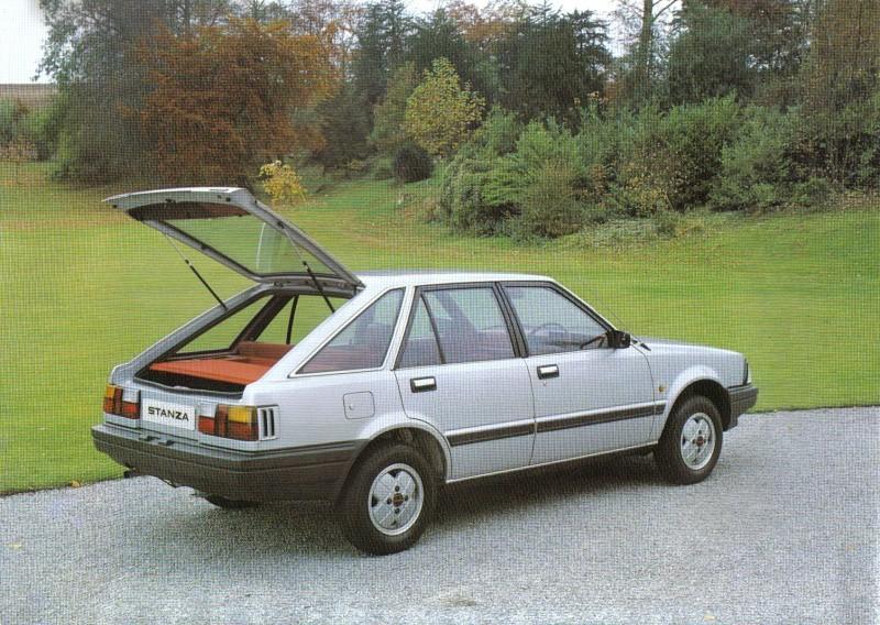 Datsun / NISSAN STANZA série des models T11 Stanza15