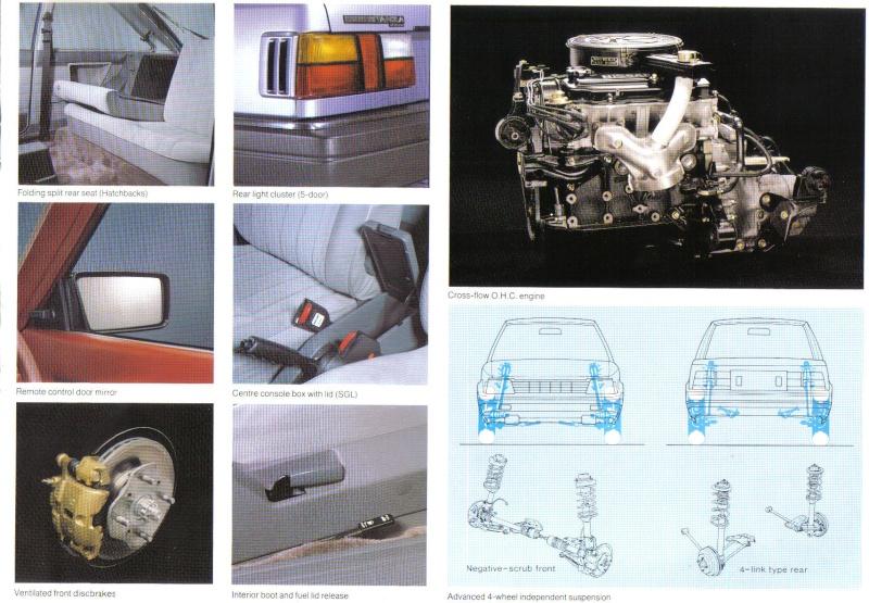 Datsun / NISSAN STANZA série des models T11 Stanza20