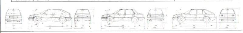 Datsun / NISSAN STANZA série des models T11 Stanza22