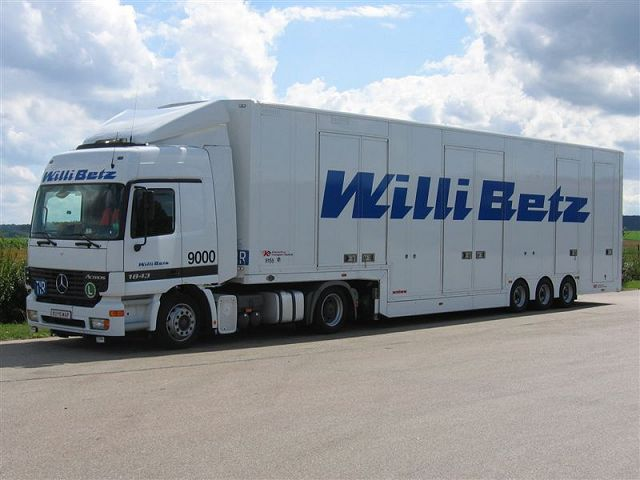 Transports Willi Betz (D) Mb-act18
