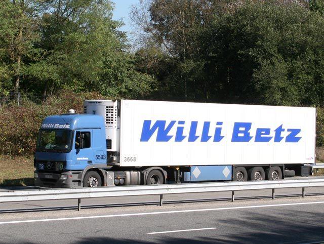 Transports Willi Betz (D) Mb-act21