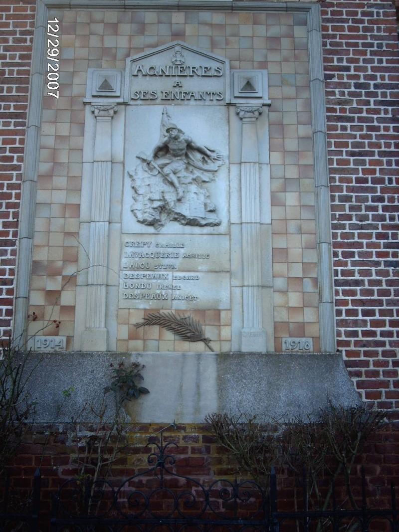 Agnières - Monument aux Morts Monume10