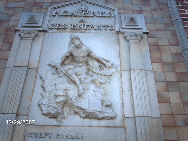 Agnières - Monument aux Morts Monume11