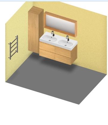 Salle de bains, pont de bateau 00127