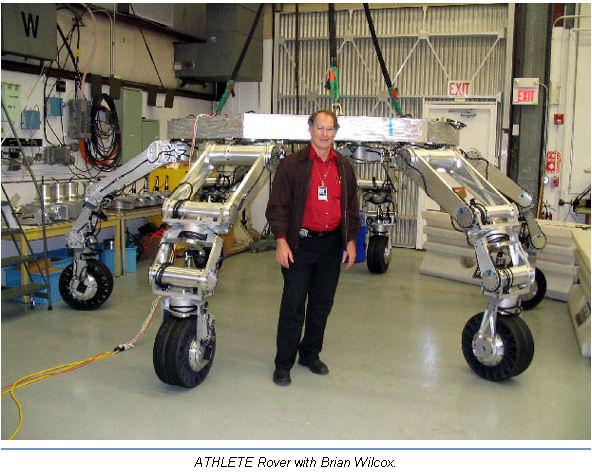 L'Hexapode ... futur robot martien ? Athlet10