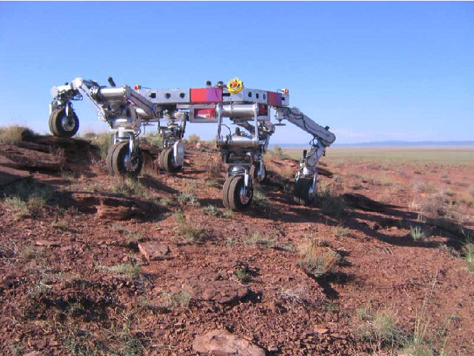 L'Hexapode ... futur robot martien ? Athlet11