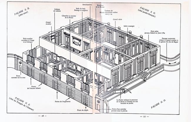 Plans du Petit Trianon (château) Petit_11