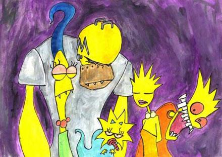 Imagenes curiosas de Los Simpson (atención a la última) Simpso10