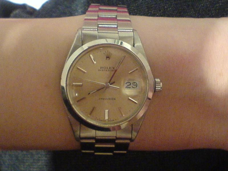 Et quelles montres portent vos épouses ou conjointes ? Precis10