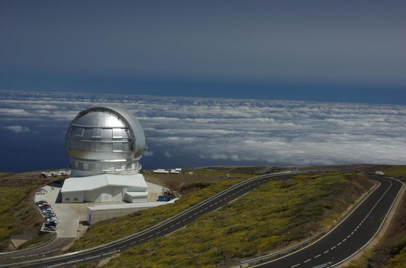 Observatoires astronomiques vus avec Google Earth 97930710