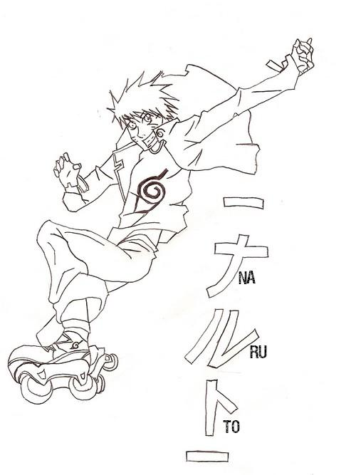 l'art de la pomme Naruto10