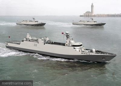 La Marine Royale Marocaine vu de l'etranger 1087310