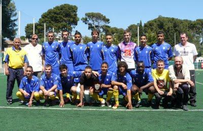L'équipe des U17 DH 2010/2011 U17dh10