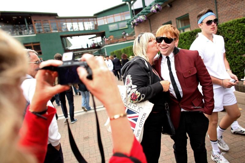 Oliver et Rupert profitent de Wimbledon 11721710