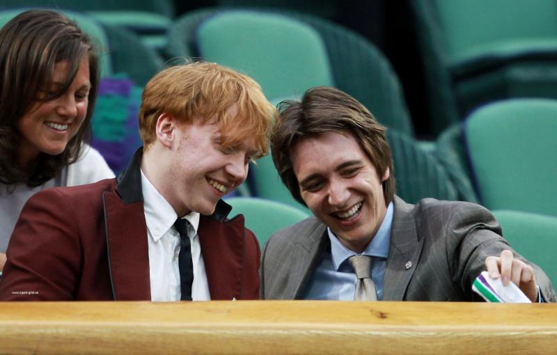 Oliver et Rupert profitent de Wimbledon 11722110