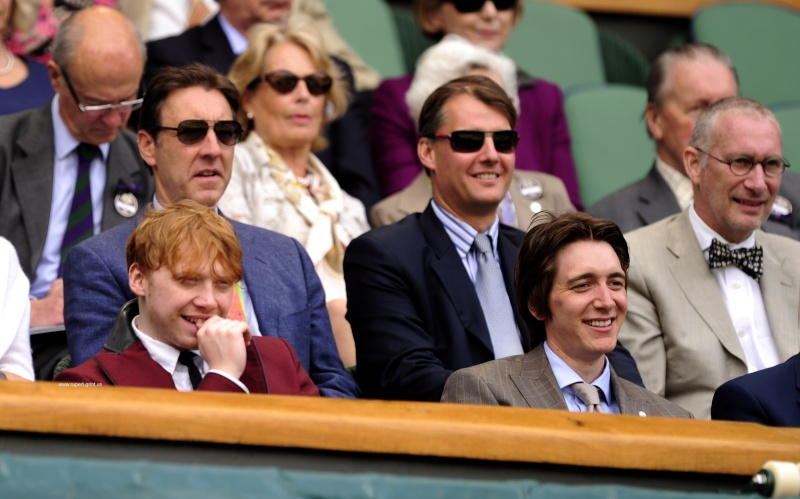Oliver et Rupert profitent de Wimbledon 25477110
