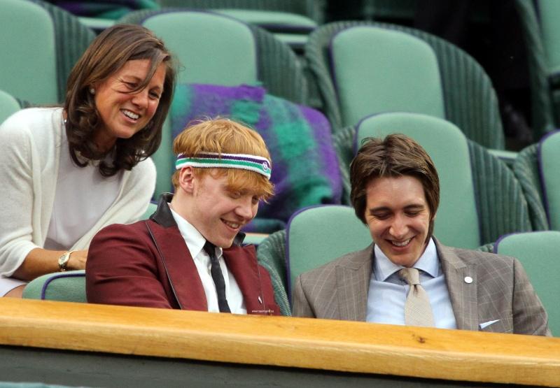 Oliver et Rupert profitent de Wimbledon 25486510