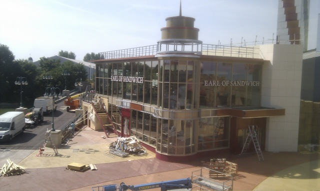 [Disney Village] Construction d'un restaurant Earl of Sandwich - Page 23 Earl10