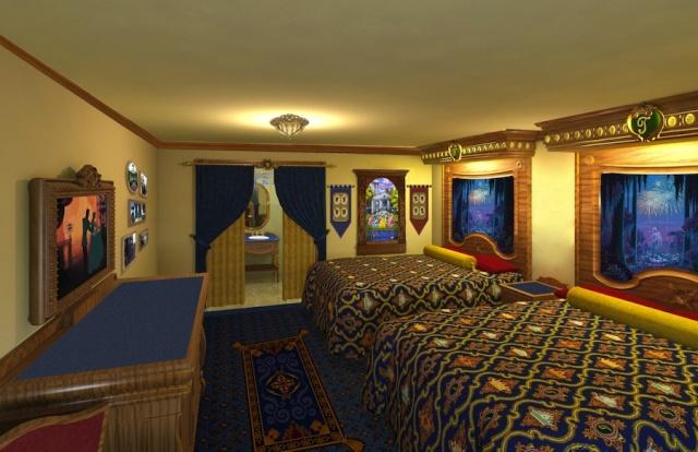 [WDW] Nouvelles chambres d'hôtel sur le thème Haunted Mansion, Pirates, Princesses et Bien-Être Royal_10