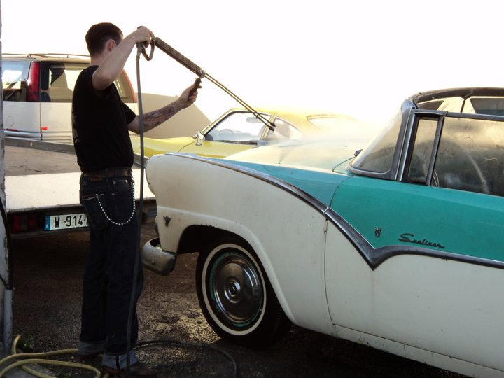 ford 1955 sunliner 22737714