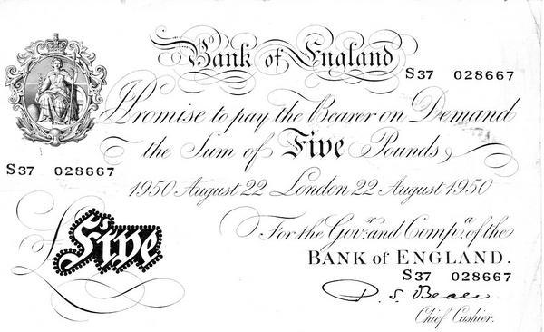 BAOR Bank Notes 16797f10