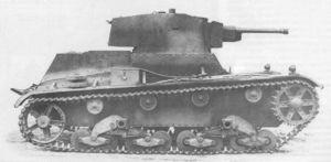 Vehiculos y Tanques capturados por los Alemanes 7tp10