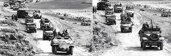 Vehiculos y Tanques capturados por los Alemanes Dak10