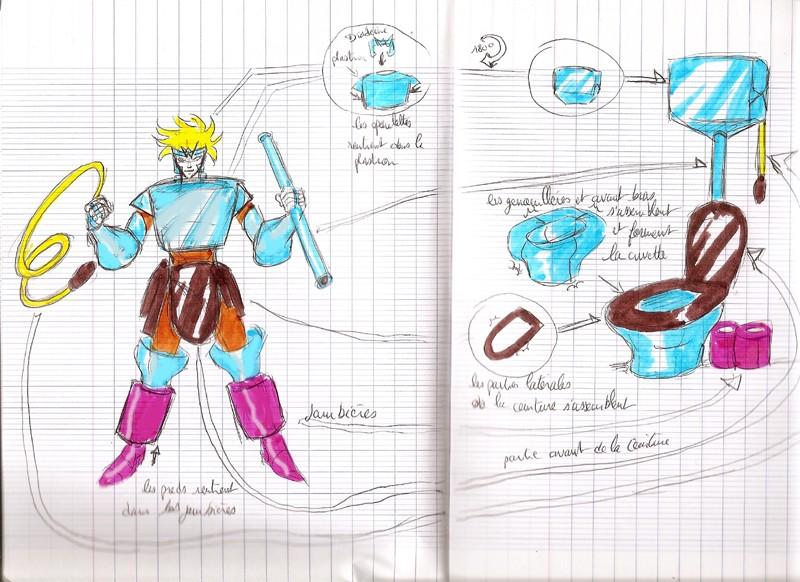 Novo cavaleiro revelado pro Tio Kuru!! Toilet10