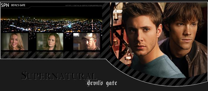 SUPERNATURAL DEVIL'S GATE