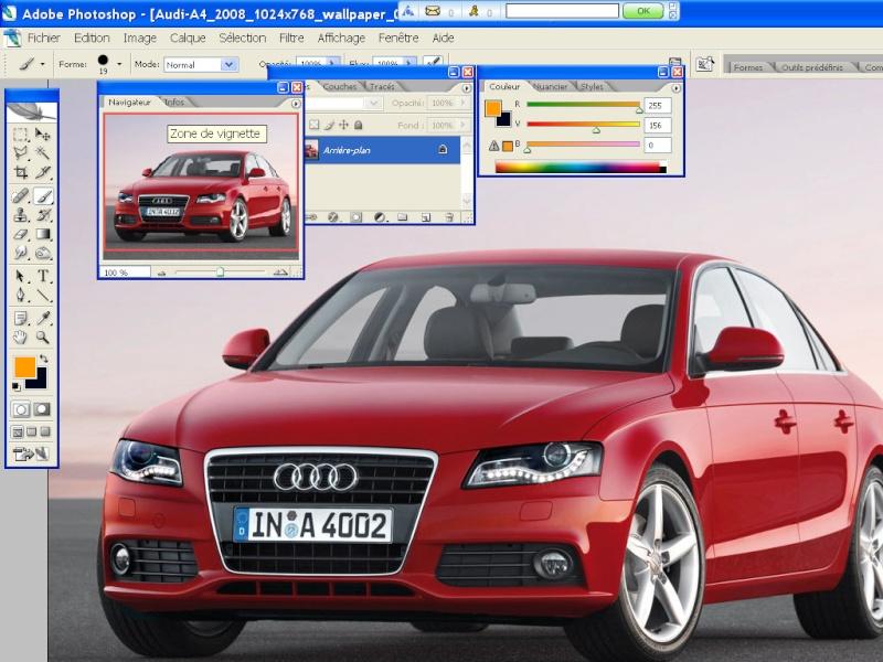 capots carbone Audi-a10