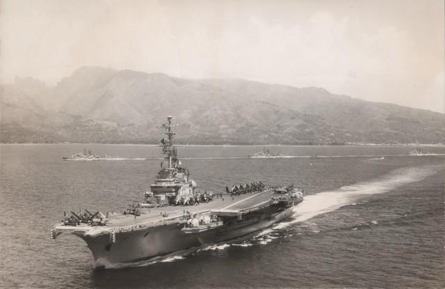 [Opérations diverses] ALBUM du CLEMENCEAU - Pacifique 1968 Force_11