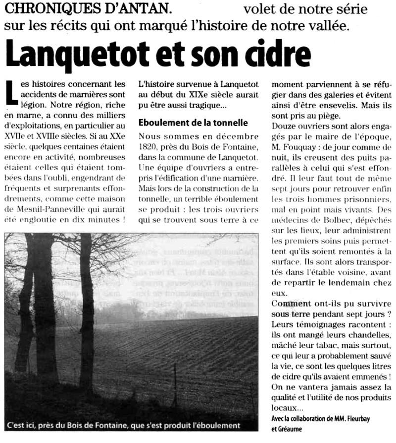 Lanquetot et son cidre Lanque10