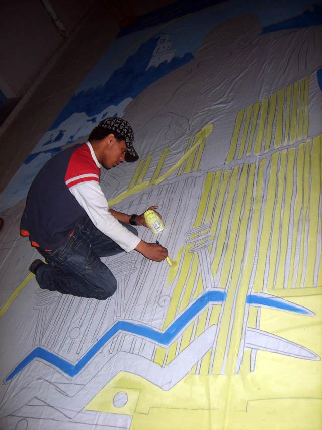 تحضيرات تظاهرة ساحات تنسج.. في القيروان 2008 (isamk) Aff80217