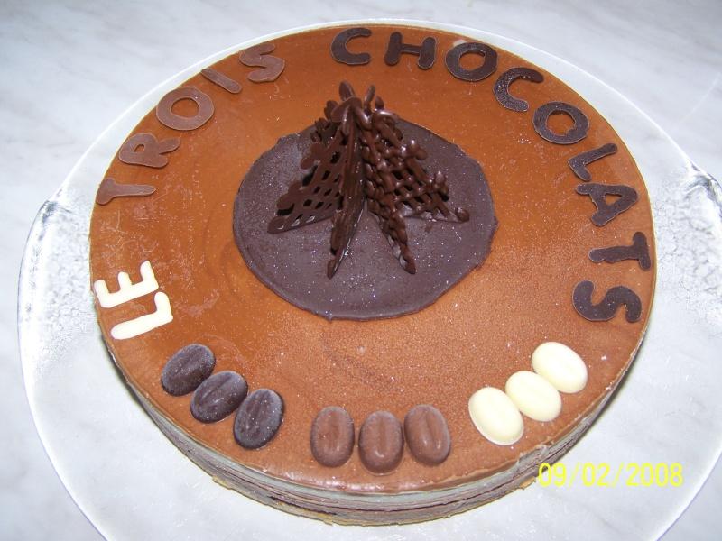 Gâteau 3 chocolats Gateau10