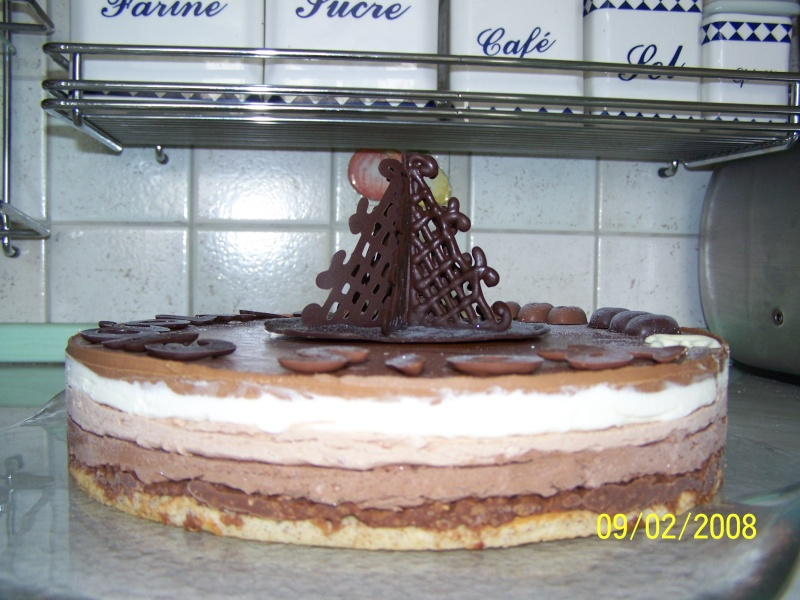 Gâteau 3 chocolats Gateau11