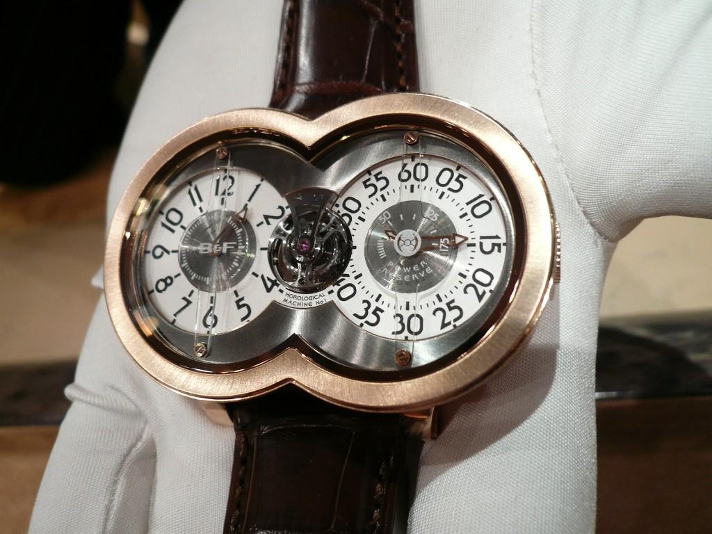 Une montre fascinante : la MB&F Horological Machine n° 1 Decemb13