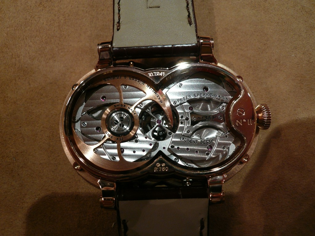 Une montre fascinante : la MB&F Horological Machine n° 1 Decemb16