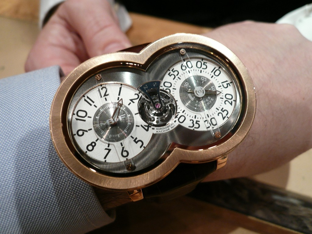 Une montre fascinante : la MB&F Horological Machine n° 1 Decemb17