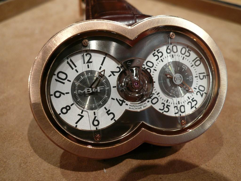 Une montre fascinante : la MB&F Horological Machine n° 1 Decemb18