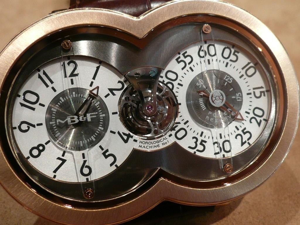 Une montre fascinante : la MB&F Horological Machine n° 1 Decemb20