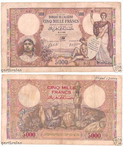 Emissions d'Algérie en billet avant 1962 Sans_t15