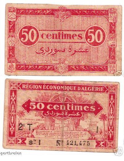 Emissions d'Algérie en billet avant 1962 Sans_t16