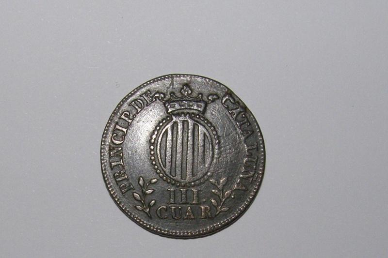 3 Cuartos de Isabel II (Barcelona, 1836 d.C) P1030910