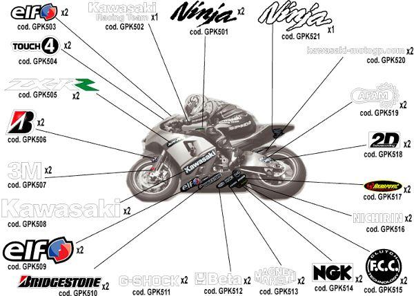 stickers Gpk50010