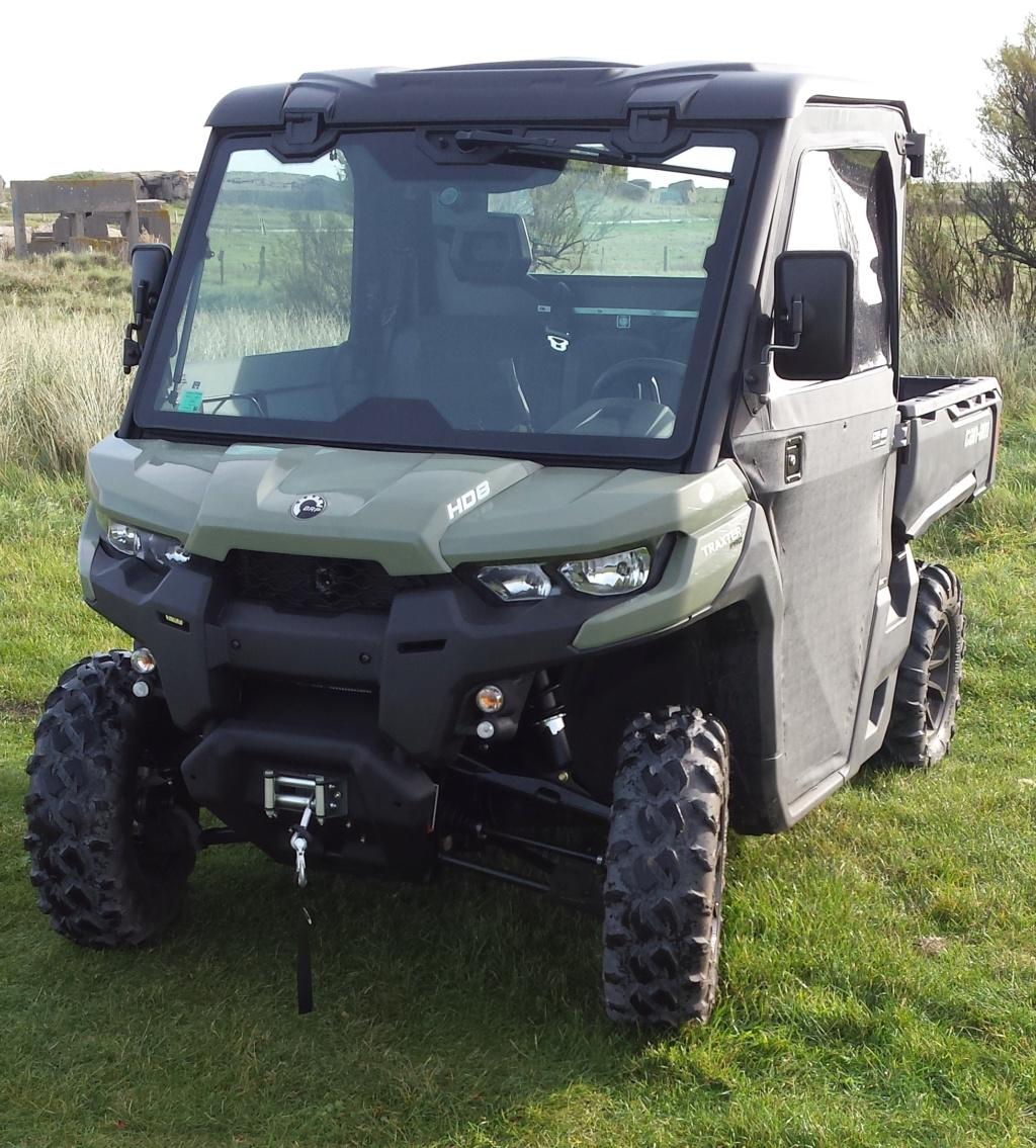 Mon Can Am Traxter HD8 pro 50ch 800cm3 4x4 échelle 1  Traxte10