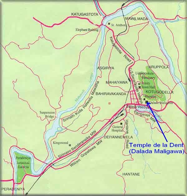 Les lieux sacrés - Héritage spirituel du Monde. - Page 2 Kandy10