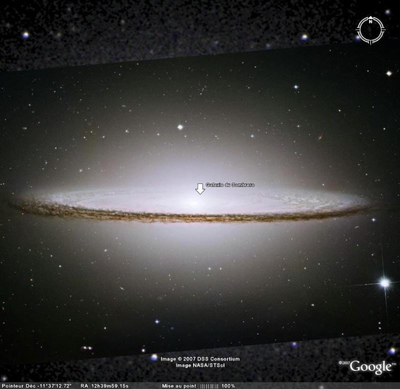 Vues remarquables dans Google Sky Sombre11