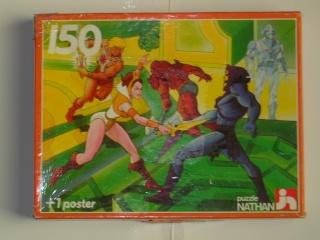 Les puzzles 80's de D.A, séries ou de  gamme de jouets.... Maitre10