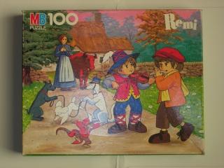 Les puzzles 80's de D.A, séries ou de  gamme de jouets.... Remi11